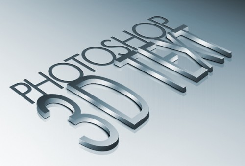 14_How to Create High Quality Metal 3D Text in Photoshop