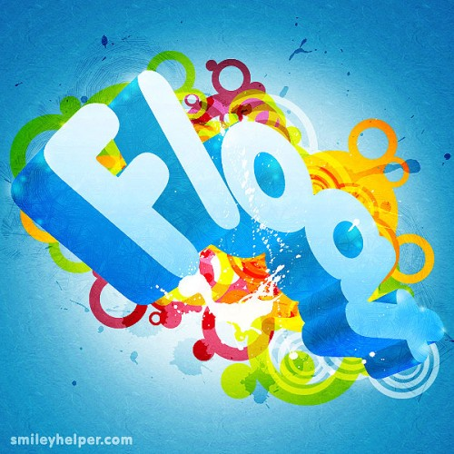 22_Make a 3D Colorful Abstract Text Effect