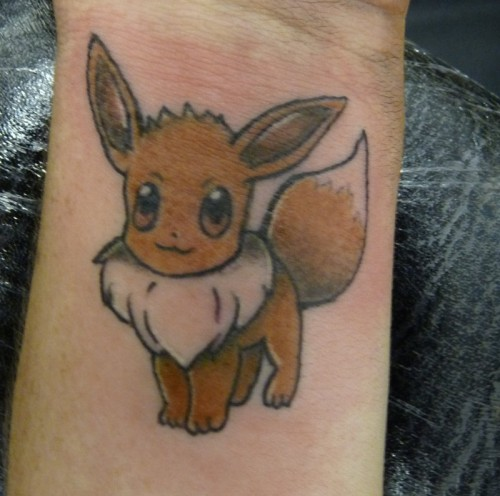 28_Eevee Wrist Tattoo