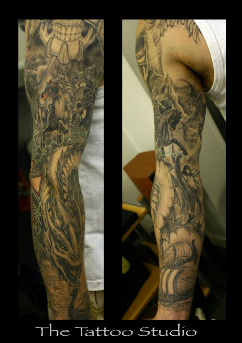 35 Sleeve Tattoo Designs