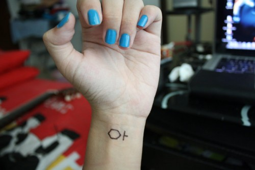 6_Tron Legacy Tattoo on Wrist