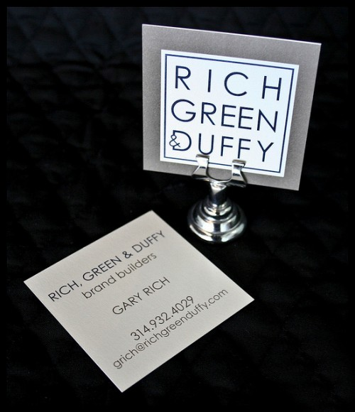 Business Cards: Rich, Green & Duffy