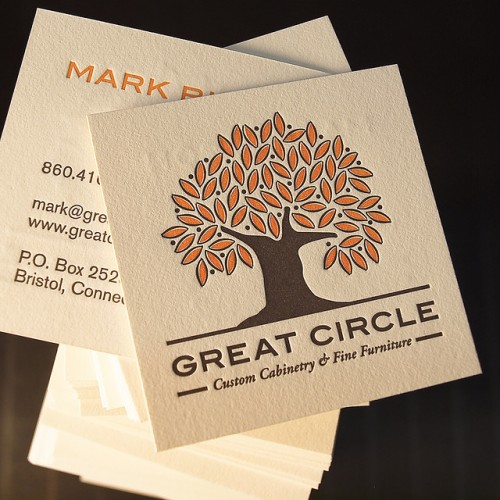 Great Circle Business Card