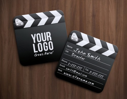 Movie Director Business Card