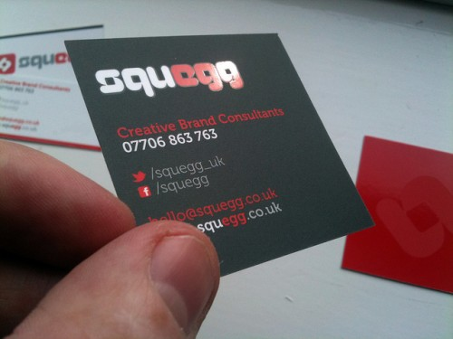 Squegg Generic Business Cards