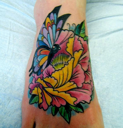 White lotus tattoo designs designinstance for Lotus flower and butterfly tattoo designs