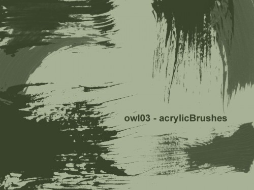 12 Free Acrylic Brushes for Download