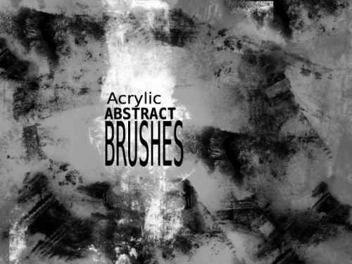 Acrylic Free Abstract Brushes