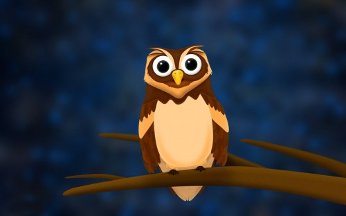 Cool Free Owl Background