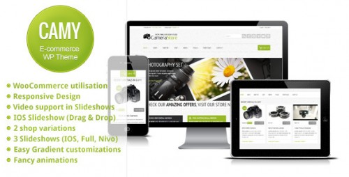 Camy - Clean Responsive Ecommerce Theme