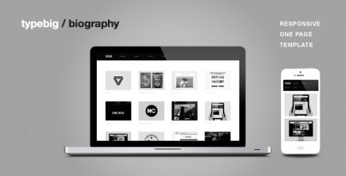 Biography - Responsive One Page Template