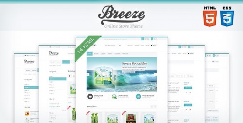Breeze - HTML5 & CSS3 Store Template