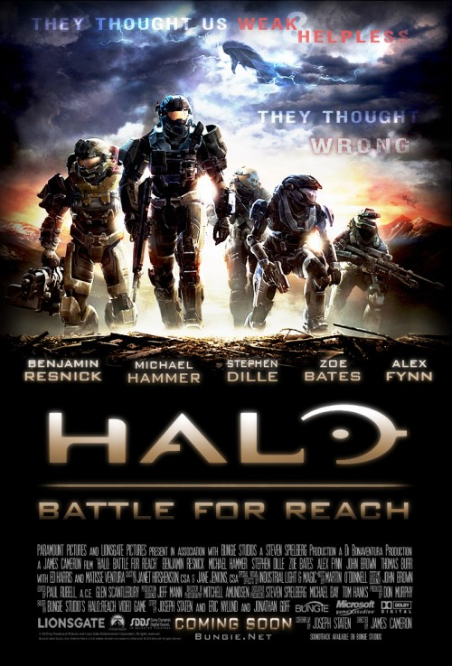 Battle for Reach Poster