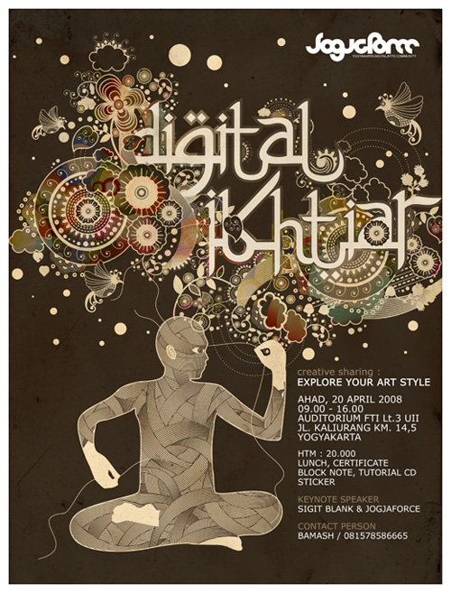 DIGITAL IKHTIAR POSTER