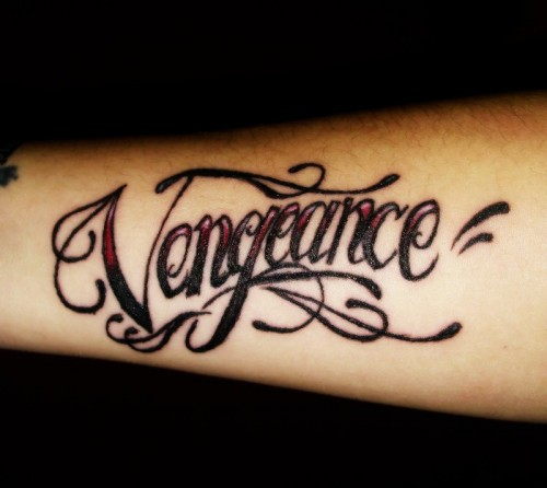 Vengeance Tattoo