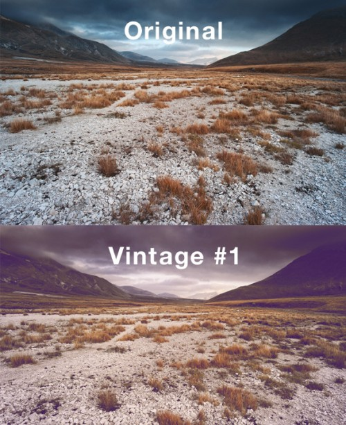 Free Vintage Actions