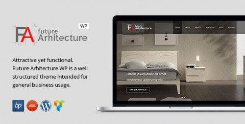 Future Architecture - Responsive WordPress Theme