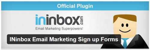 INinbox Email Marketing Sign up Forms