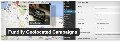 Fundify Geolocated Campaigns