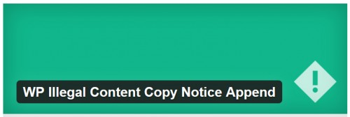 WP Illegal Content Copy Notice Append