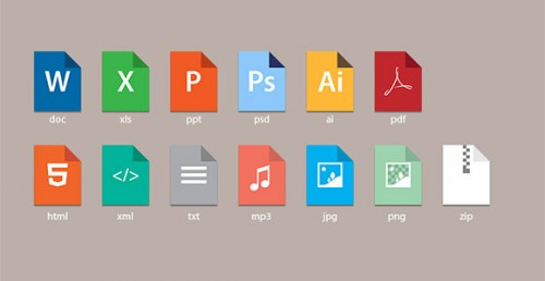 Good Doc Style Icons Free PSD