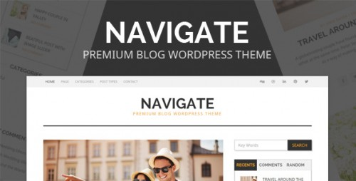 Navigate - Premium Blog WordPress Theme