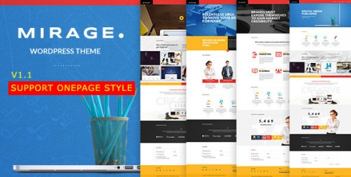 Mirage - Portfolio for Freelancers & Agencies