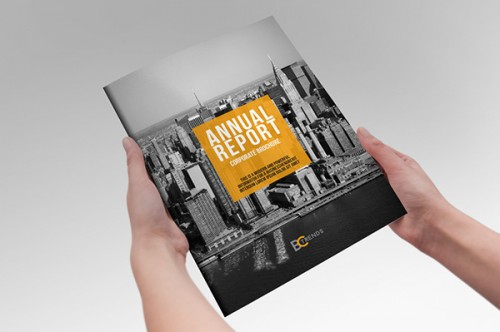 Annual Report - InDesign Template