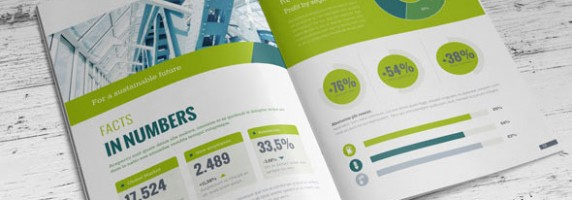 Cool Annual Report Design