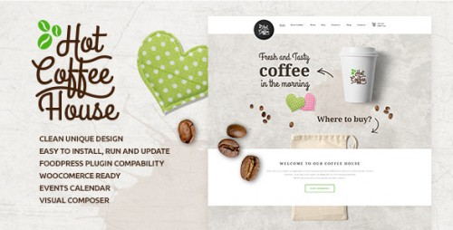 HotCoffee - Cafe, Restaurant and Bar Theme