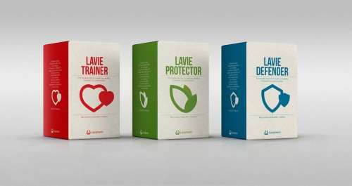 Lavie Medical Supplements Packaging