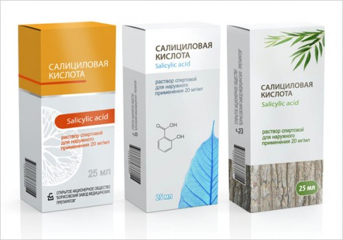 Salicylic Acid Packaging Design