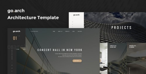 Go.arch - Real Estate Landing Page