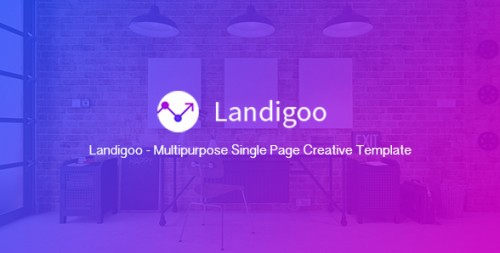 Landigoo - Multipurpose Single Page Creative Template